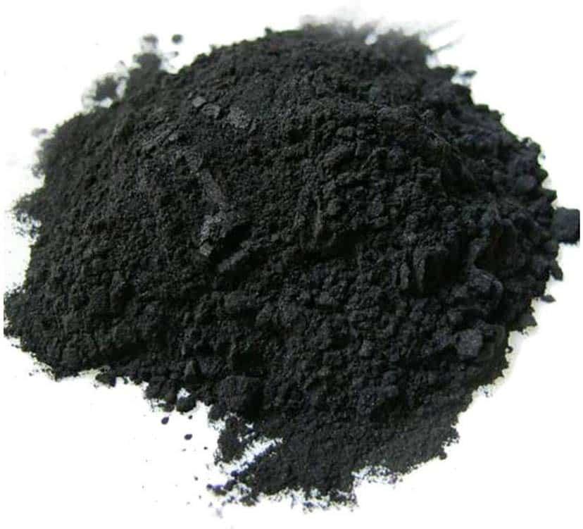 carbón activado en polvo
