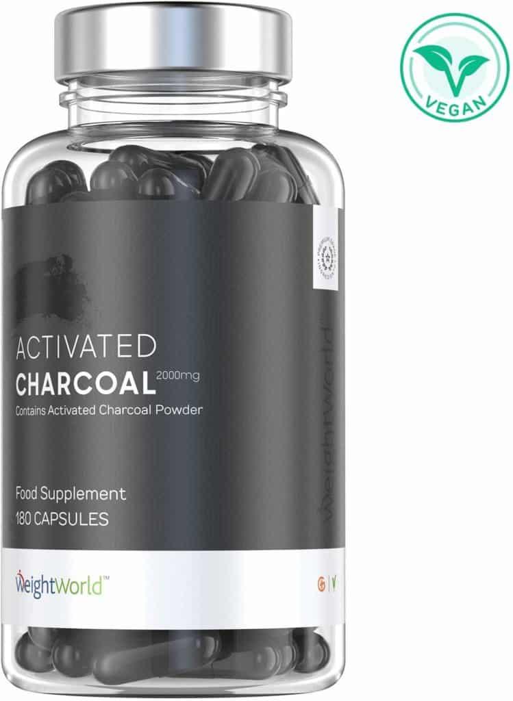 suplemento para desintoxicar a base de carbón activado
