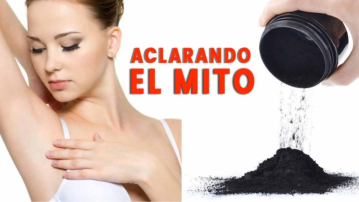 carbon activado para aclarar la piel